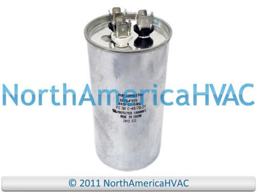 5 uf MFD 370 Volt Diversitech 3GR0580 NEW Motor Round Dual Run Capacitor 80