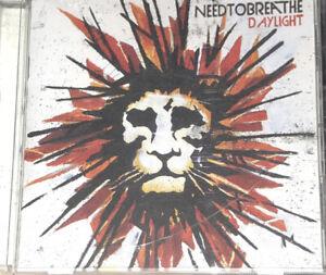 Needtobreathe Daylight CD Christian Rock Brand New Promo Copy