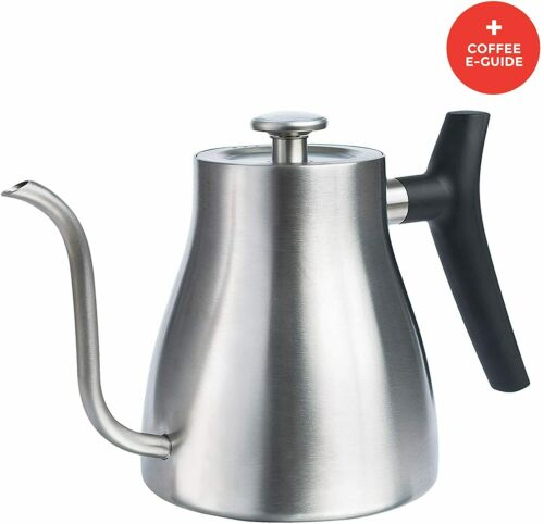 Gooseneck Kettle for Stove Top - Pour Over Kettle with Thermometer