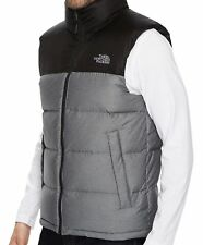 b7cfaa03a6 item 2 THE NORTH FACE Nuptse Down Mens M Heather Gray TNF Black Vest NEW   149 -THE NORTH FACE Nuptse Down Mens M Heather Gray TNF Black Vest NEW  149