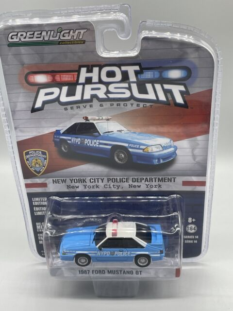 Greenlight Hot Pursuit San Francisco Police 1993 Ford Mustang New