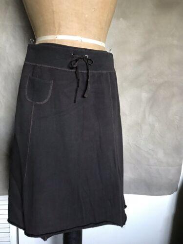 Margaret Cotton Xs Comodo Knit Sweatshirt Charcoal Sporty O'leary Casual Skirt CrCqpwf