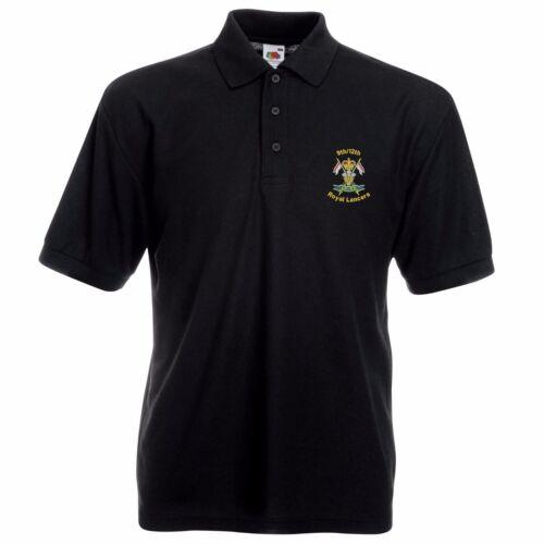 9//12 Royal Lancers Polo Shirt Embroidered Logo