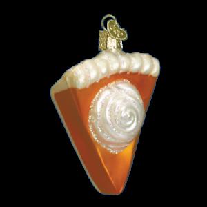 Old-World-Christmas-PUMPKIN-PIE-32019-N-Glass-Ornament-w-OWC-Box