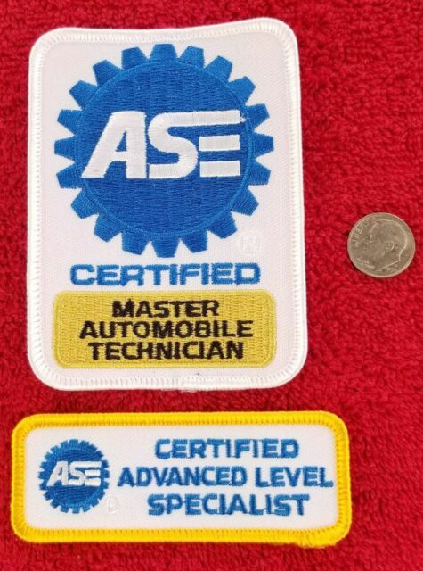 technician ase patches certified advanced ship fast