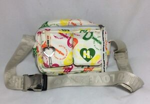 Pre-Loved-Harajuku-Lovers-Wind-It-Up-Crossbody-Bag-Fanny-Pack-Waistbag-EUC