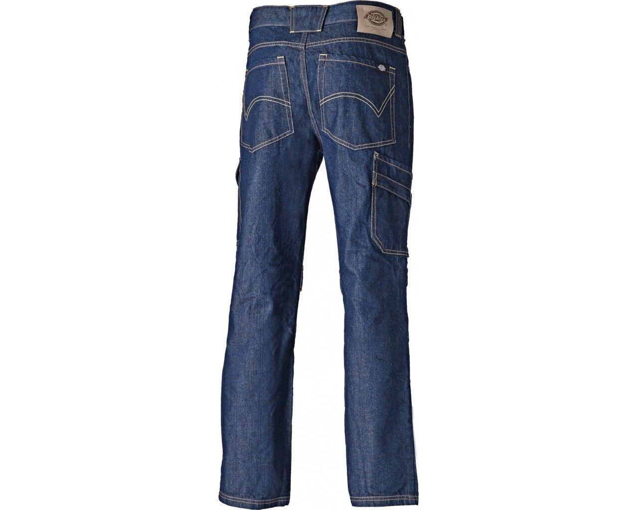 Dickies Stanmore trabajo BOLSILLOS Jeans hombre Premier RESISTENTE VARIOS BOLSILLOS trabajo b98685