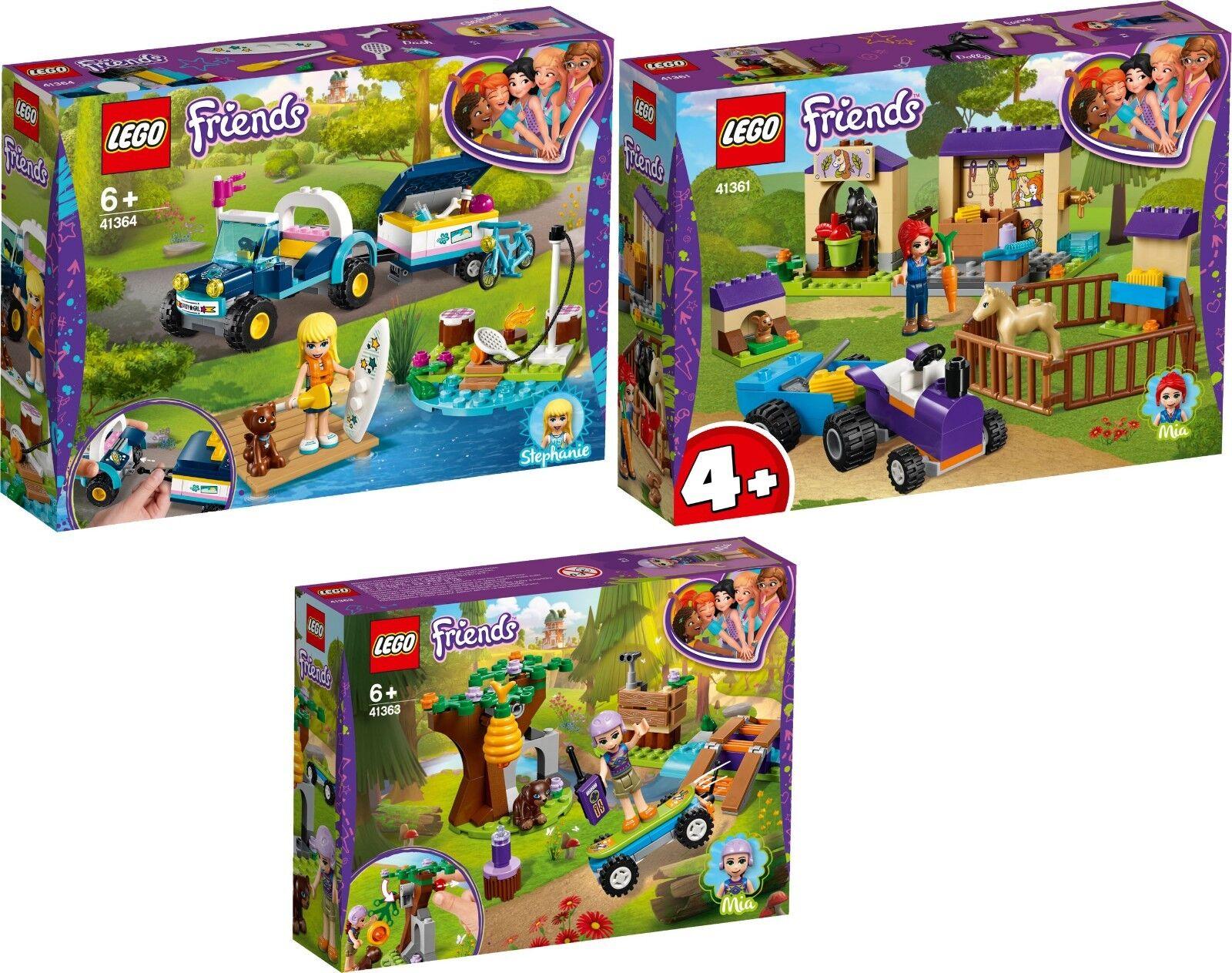 LEGO Friends Stephanies Cabrio 41364 41363 41361 Mias Fohlenstall N1 19