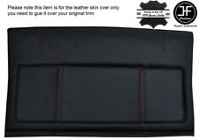 RED STITCH PARCEL SHELF LEATHER COVER  FITS VW GOLF MK2 II JETTA 83-92