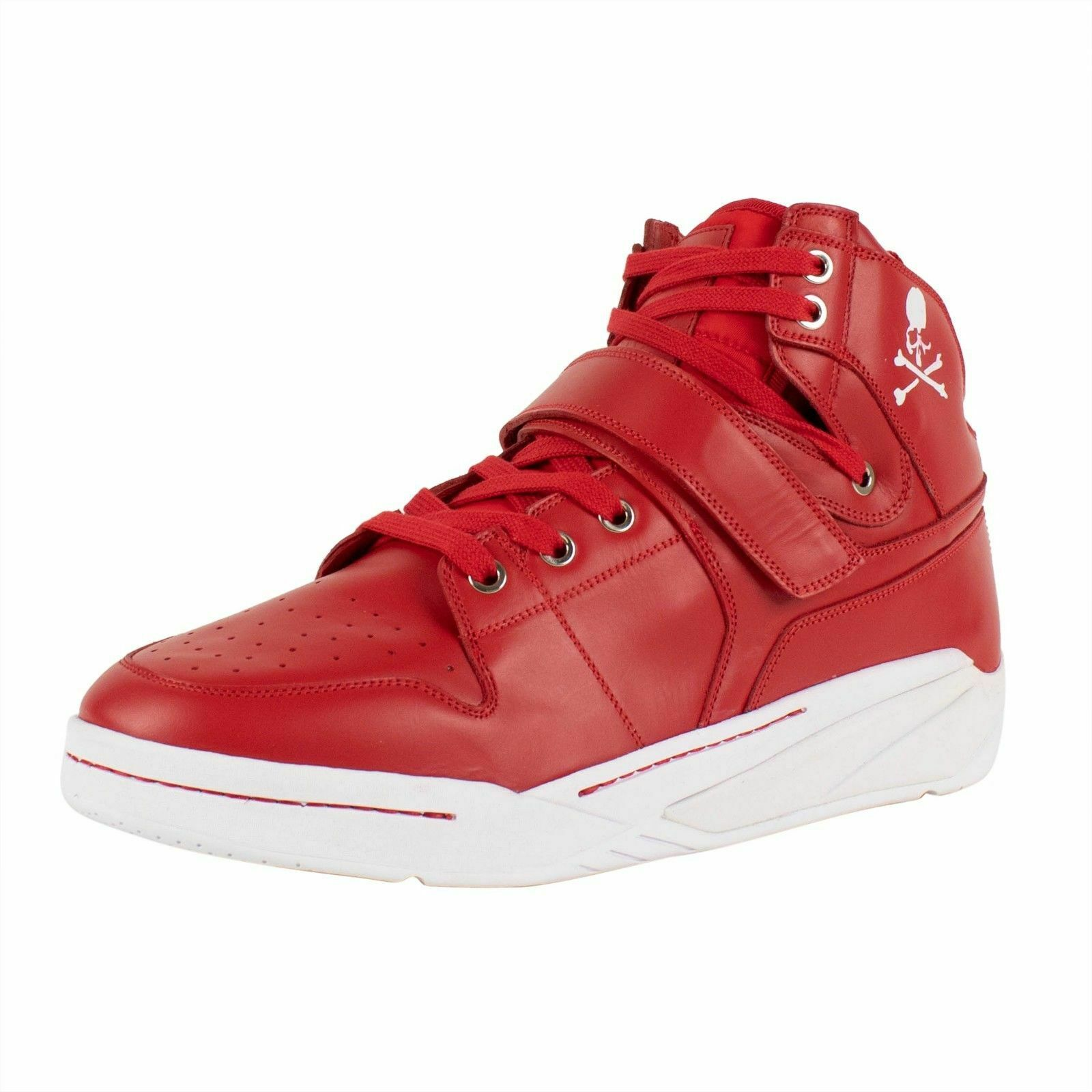 NIB MASTERMIND SEARCHNDESIGN 'MMJ' Red Basket Sneakers shoes Size 10 43