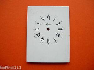Un Cadran émail Angelus Pendule,pendulette Uhr Zifferblatt 75x101 Mm Dial N 11 Vente En Ligne Du Dernier ModèLe En 2019 50%
