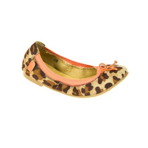 Move Bambini Ballerina Marrone Rosa Leopard pattern