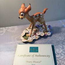 WDCC Bambi Purty Flower Walt Disney Classics Collection