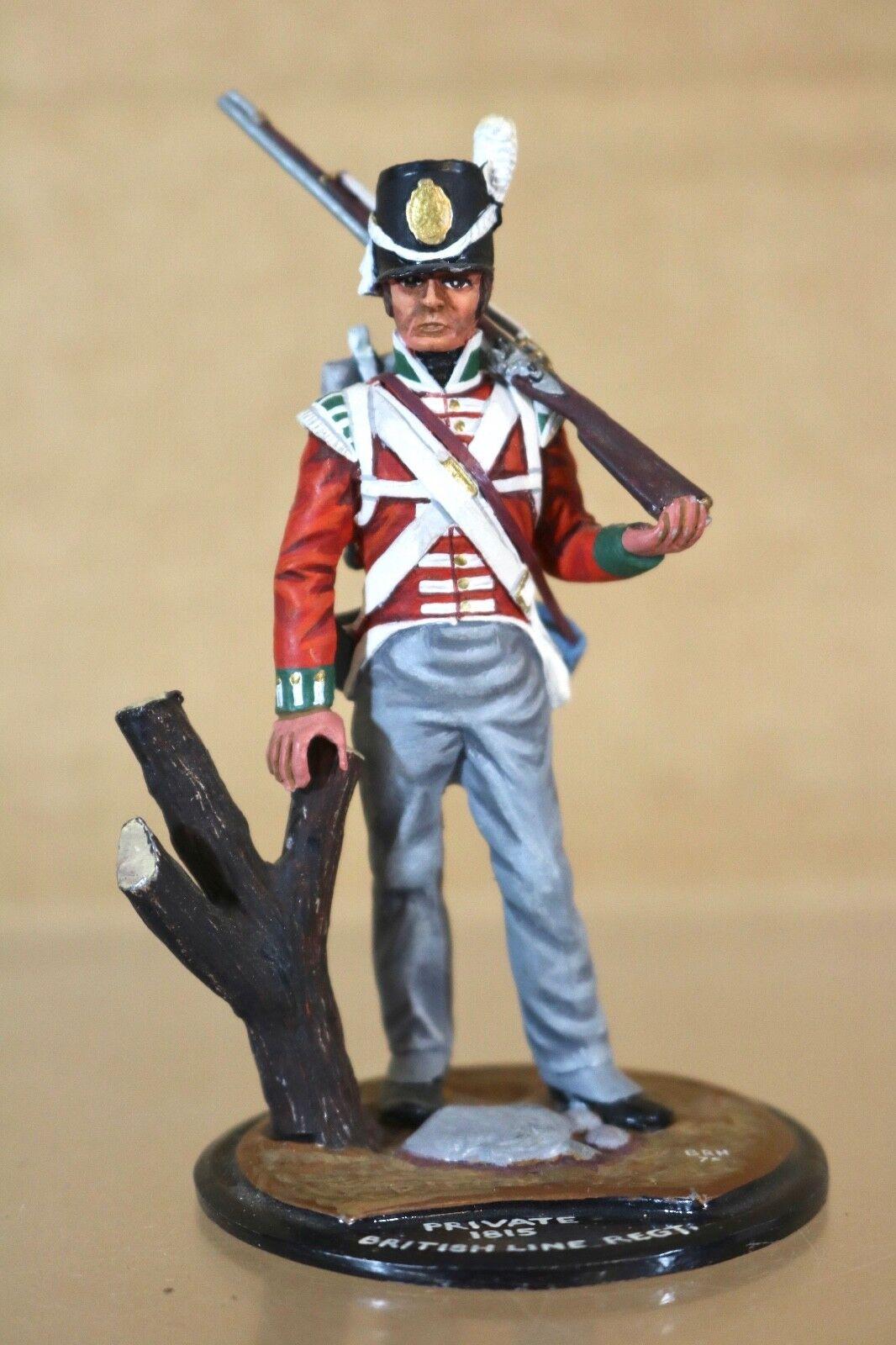 envío gratis Serie 77 77 77 90mm Napoleonic Británico Line Regt Private 1815 Waterloo Estudio  venta de ofertas