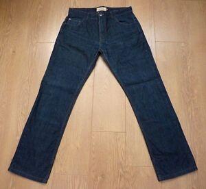 053d843b Next Superior Quality Goods Men's Loose Fit Dark Blue Jeans Size 34L ...