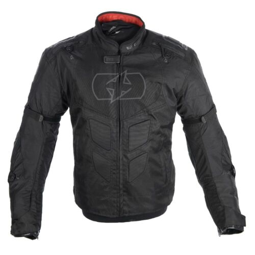 Oxford Melbourne 2.0 MS Motorbike Motorctcle Race Jacket Sports Stealth Black