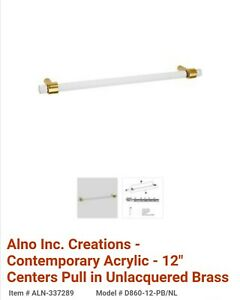 Creations By Alno Inc D860 12 Sb Appliance Pull 785584099960 Ebay