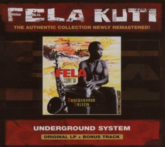 Kuti, Fela - Underground System EGYPT 80 CD NEU OVP
