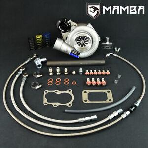 Mamba GTX Ball Bearing Turbo for Nissan Td42 GQ Gtx2863r W/ .42 T3 6 Bolt HSG