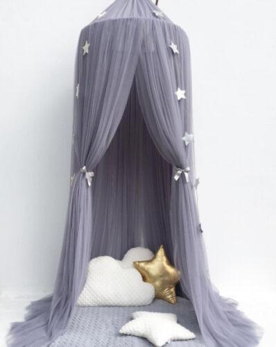 DE Baby Kind betthimmel Mückennetz Fliegennetz Baldachin Kinder Schlafzimmer