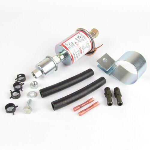 Bomba de combustible eléctrica 6V Kit para sistemas de carburación