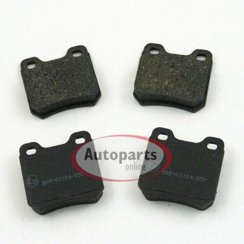 Bremsen Bremsscheiben Set Zubehör Satz für hinten 5 Loch Felge Opel Vectra B