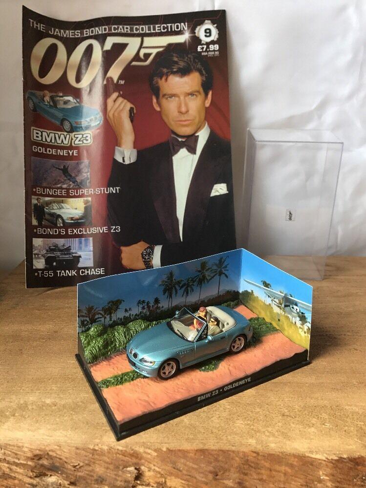 007 James Bond Car Collection No 9 BMW Z3 goldeneye