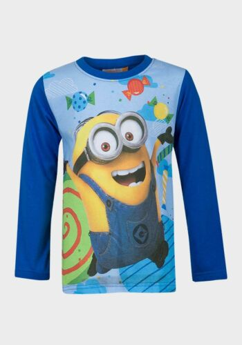 Official Boys Despicable Me Long Sleeve Top