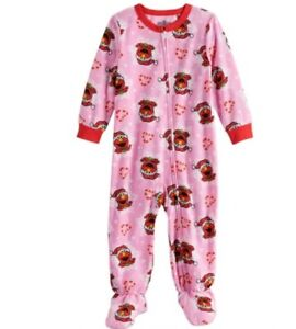 NWT Carters Girls Footed Fleece Pajamas Size 3T 3 Ballet