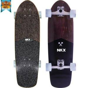 SKATEBOARD-SURFER-CITY-SURFSKATE-CLASSIC-Longboard-73-6-cm-29-034-Acero-Canadese