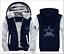 Dallas Cowboys Fan Mens Hoodie Fleece Coat winter Thicken Warm Jacket Sweatshirt