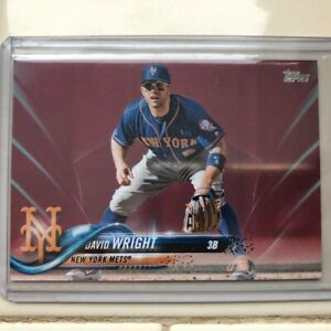 Topps-New-York-Mets-David-Wright-Series-2-Mothers-Day-25-50-SP-LAST-CARD