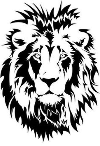 Lion Face 190 micron Mylar Stencil durable /& sturdy A5 A3 ****NEW**** A4