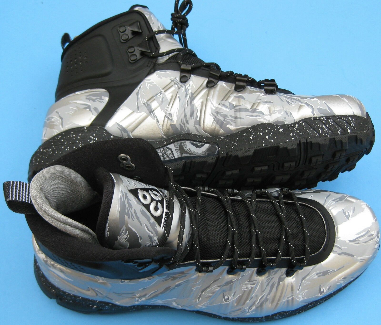 New Nike Zoom MW Posite QS ACG 637840 010 Mens Outdoor Boots Sz 9-10 Pck 1 250