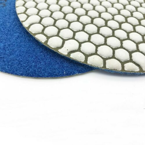 7 Inch 180mm Soft Diamond Polishing Pads Dry Use Stone Concrete Marble Granite