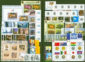 UNO New York 2005 + 2006 komplett - Nr. 971-1040 inkl. Block 25 + 26 **