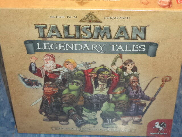 Talisman  Legendary Tales - Pegasus Spiele Games Workshop Board Game New