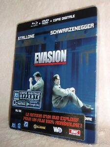 Escape Plan SteelBook [Blu-ray: Region Free, DVD: 2, 2 Disc] Sylvester Stallone