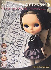 Doll-Coordinate-Recipe-11-POUPEE-JAPONAISE-vetements-de-motif-Livre-Blythe-New-Japan