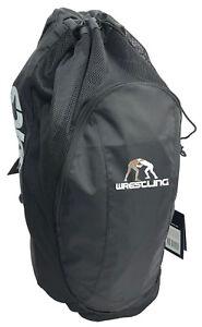 Details About Rucksack Asics Athletic Drawstring Wrestling Gear Bag Backpack Zr307 New