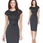 Elegant-Women-Office-Formal-Business-Work-Party-Sheath-Tunic-Pencil-Mini-Dresses thumbnail 10