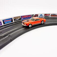 "SCX 11/"" RED 1:43 SLOT CAR GUARD RAILS 8-PACK"