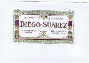 Diego Suarez Doré Doré Interne Cigare Boîte Label Iuigdzwh-07231459-952760154