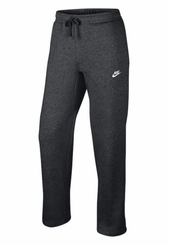 Men/'s NIKE Club Fleece OH Pants Sweatpants Charcoal Grey Blk S M L XL 804395 071
