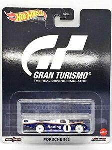 Die Cast Modellino PORSCHE 962 Gioco GT Gran Turismo Scala 1:64 6cm Hot Wheels