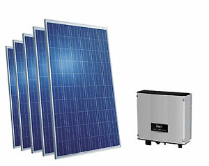 1 33 kw plug and play solaranlage pv komplettpaket 5 module wechselrichter ebay. Black Bedroom Furniture Sets. Home Design Ideas