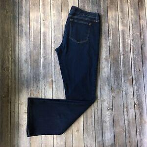 Gap-Jeans-Women-32-L-Long-14-Curvy-Boot-Cut-Blue-1969-Denim-33-034-Inseam