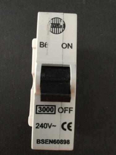 Wylex B6 Plug In MCB