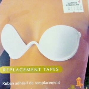 7c6979209c8 Image is loading NIP-CLEAR-NATURAL-WINGS-BRA-REPLACEMENT-TAPE-STRAPLESS-