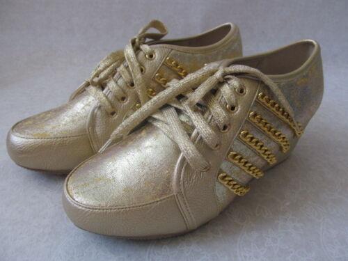 11 Joan compensée Gold Taille M Boyce Nouveau Metallic Chaussure 1Y4FqwF